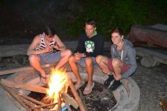 Das 1. Lagerfeuer