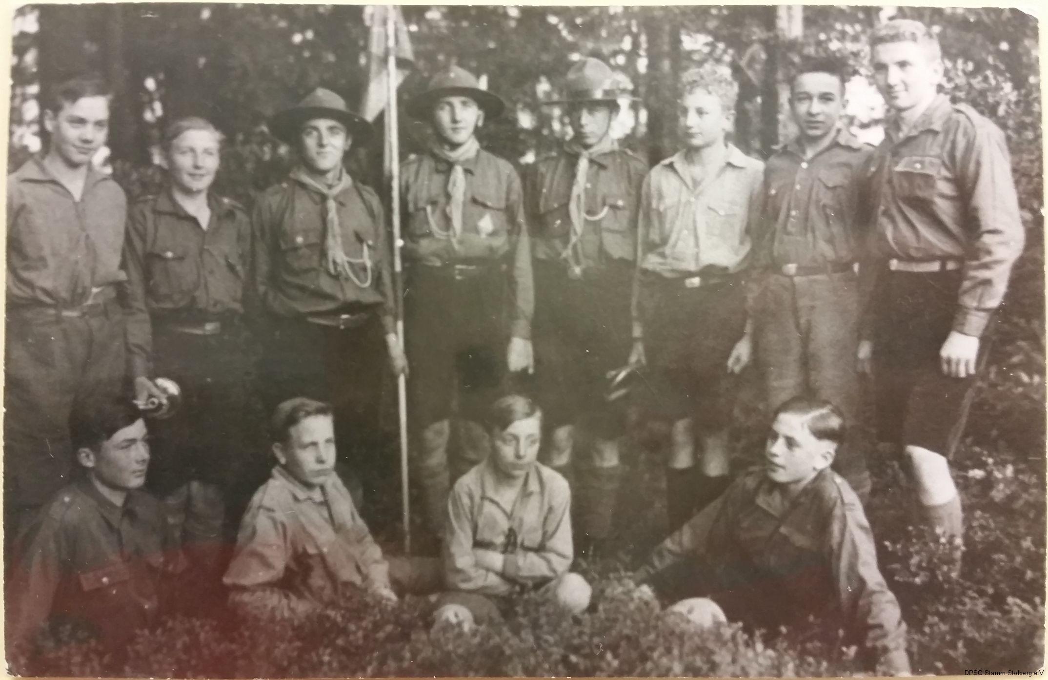 Gründer des Stammes Münsterbusch 1931