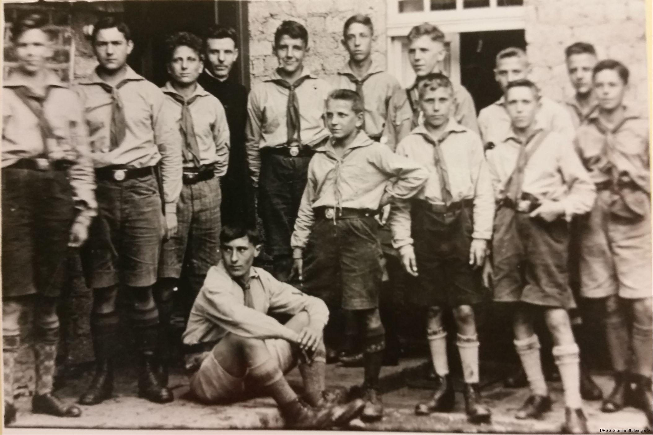 Stamm Büsbach bei der Gründung 1929