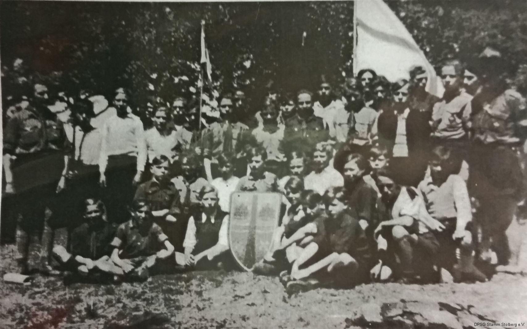 Der Stamm Münsterbusch 1950