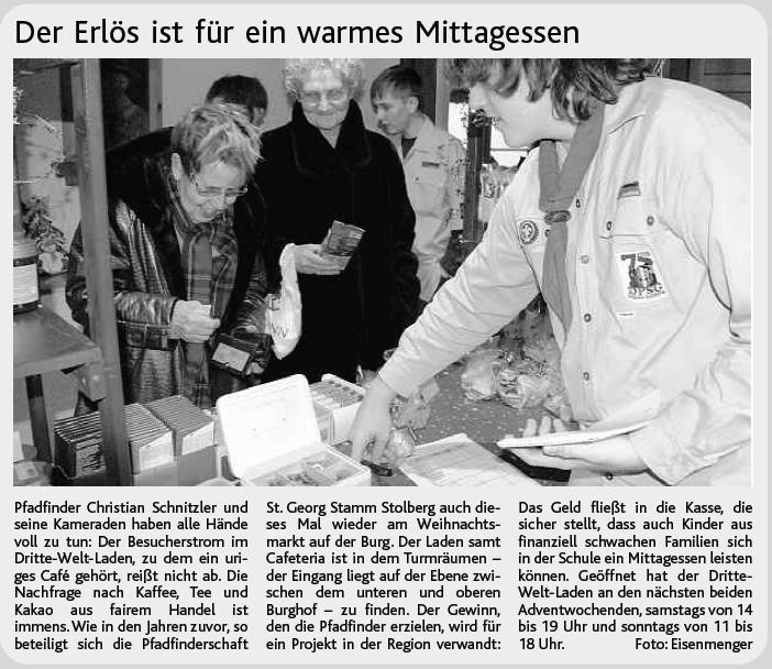 Weltladen 2008