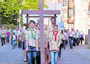 Ökumenischer Kreuzweg an Karfreitag @ Vogelsangkirche